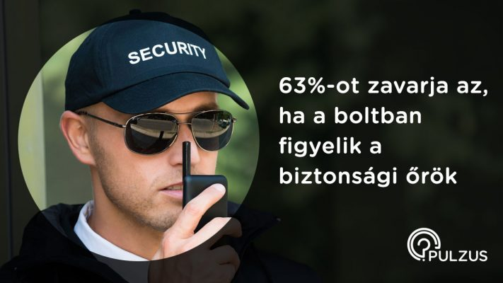 Pulzus kutatás - biztonsági őr