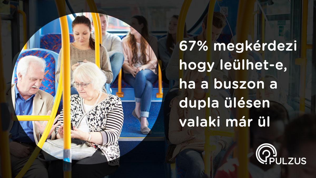 Pulzus kutatás - utazás a buszon