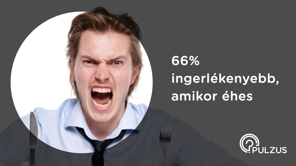 Pulzus kutató - ingerlékenység amikor éhes