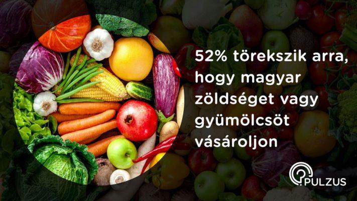 Pulzus kutatás - magyar zöldség és gyümölcs