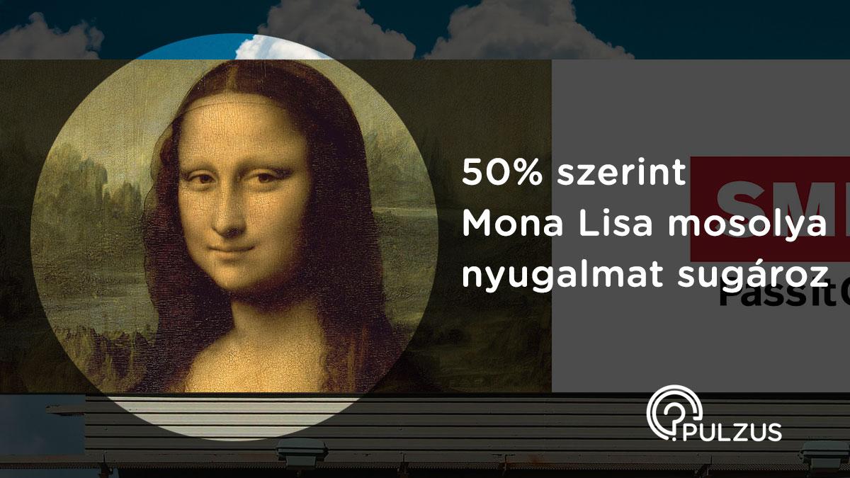 Pulzus kutatás - Mona Lisa mosolya