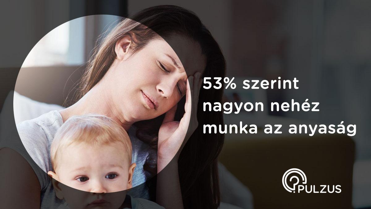 Pulzus kutatás - nehéz munka az anyaság