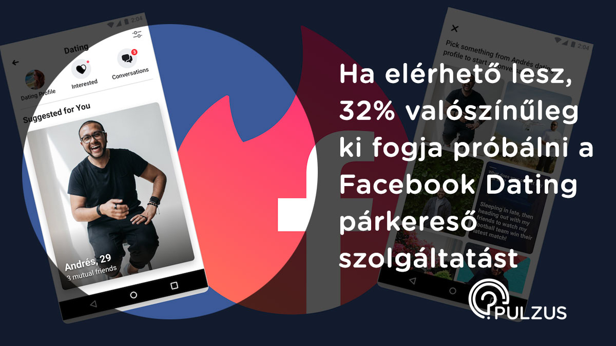 Pulzus kutatás - Facebook Dating