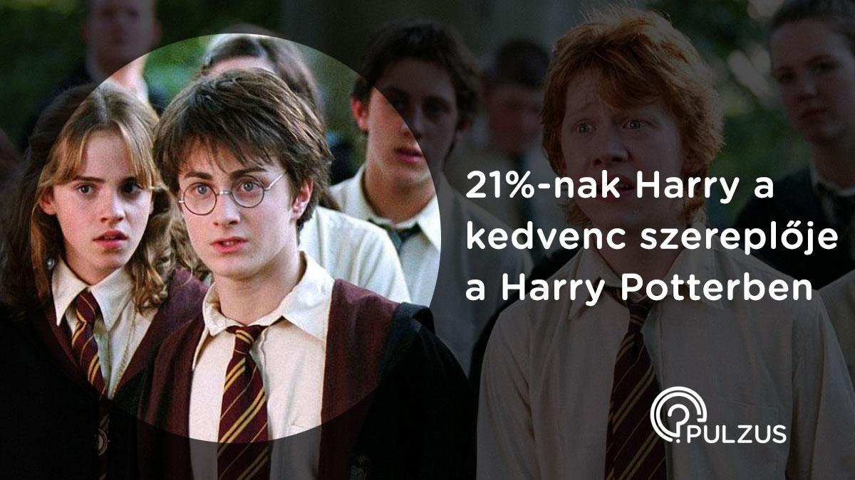 Pulzus kutatás - Harry Potter