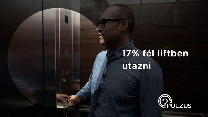 Pulzus kutatás - utazás a liftben