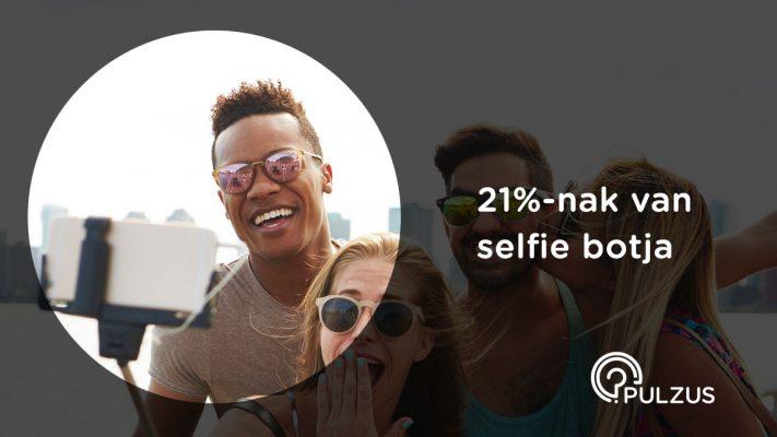 Pulzus kutatás - selfie bot