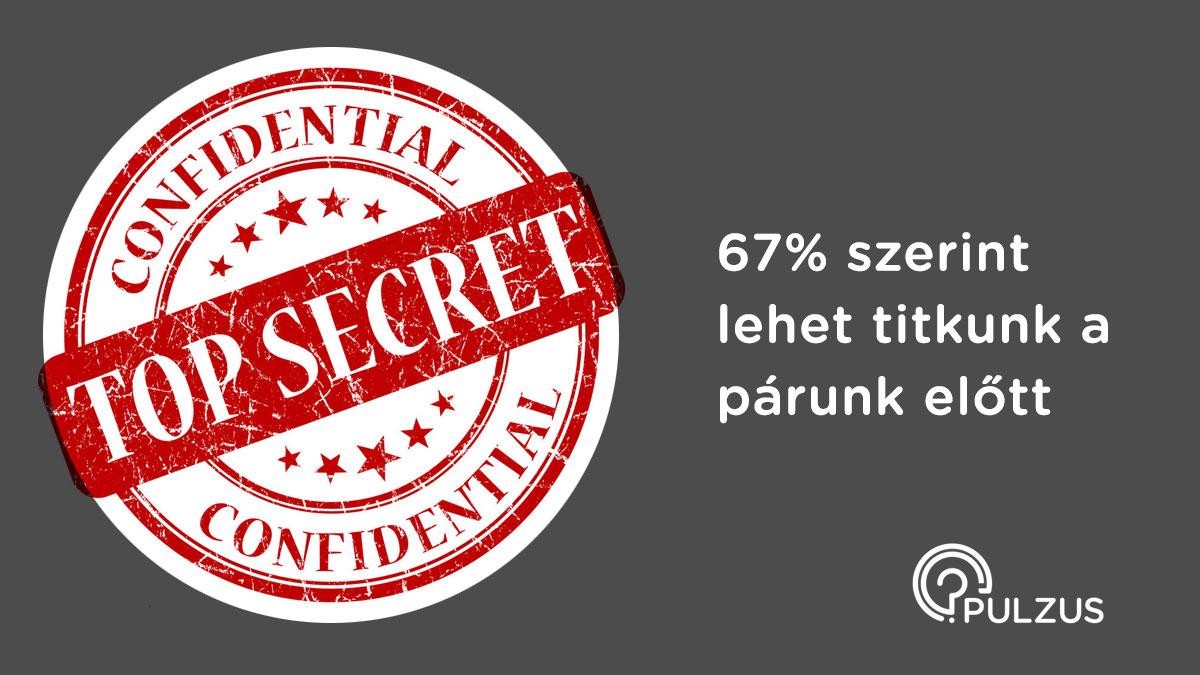 Pulzus kutatás - titkok a párunk előtt