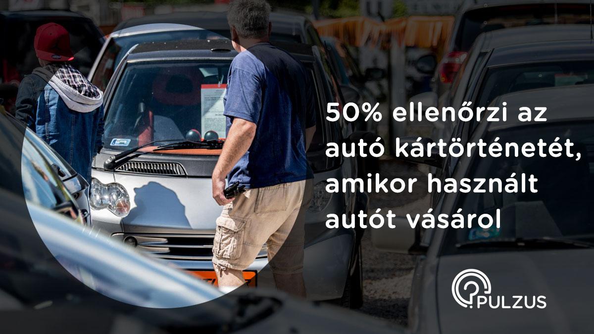 Kártörténet ellenőrzése autó vásárlásakor - Pulzus kutatás