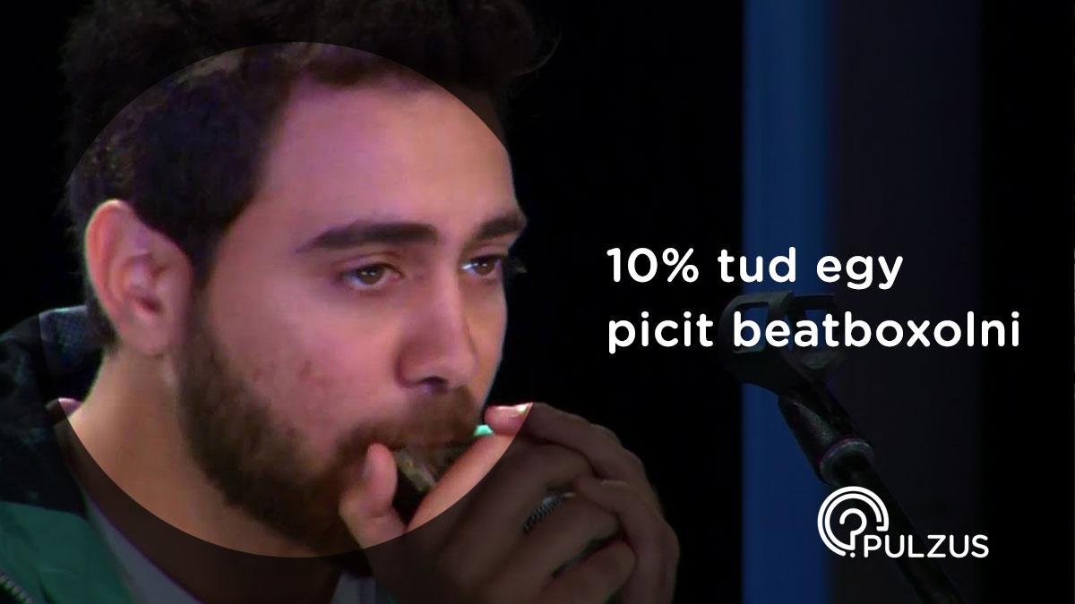 Beatbox, azaz a szájdobolás - Pulzus kutatás