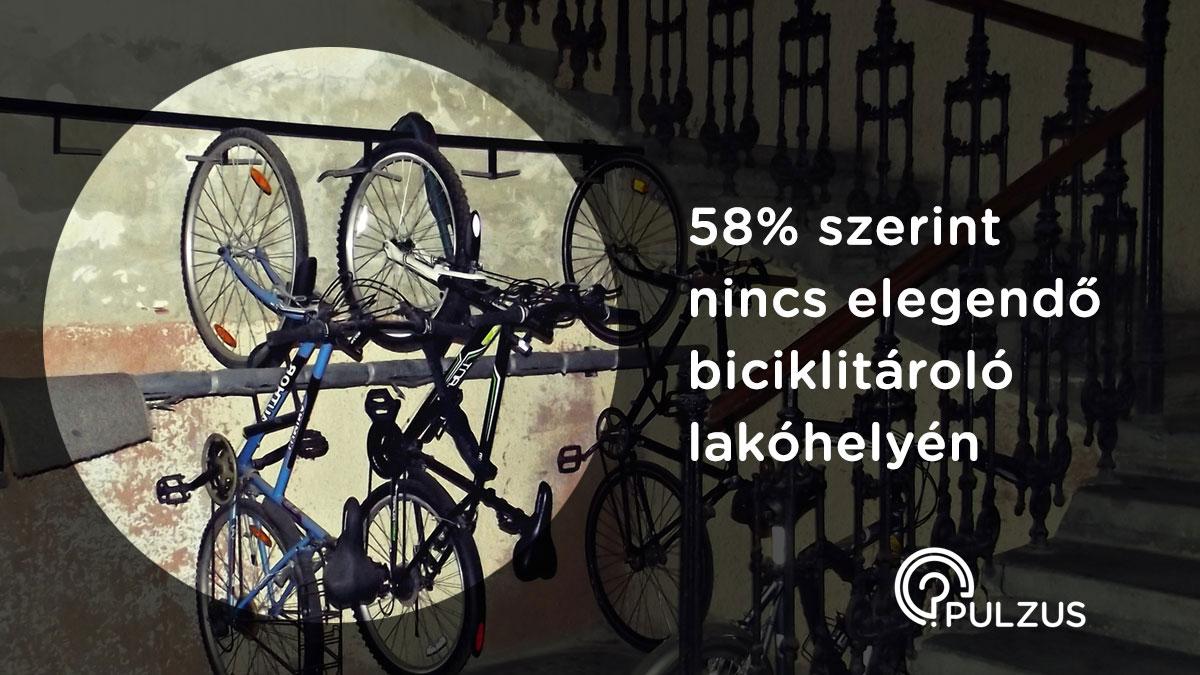 Biciklitárolók lakóhelyünkön - Pulzus kutatás