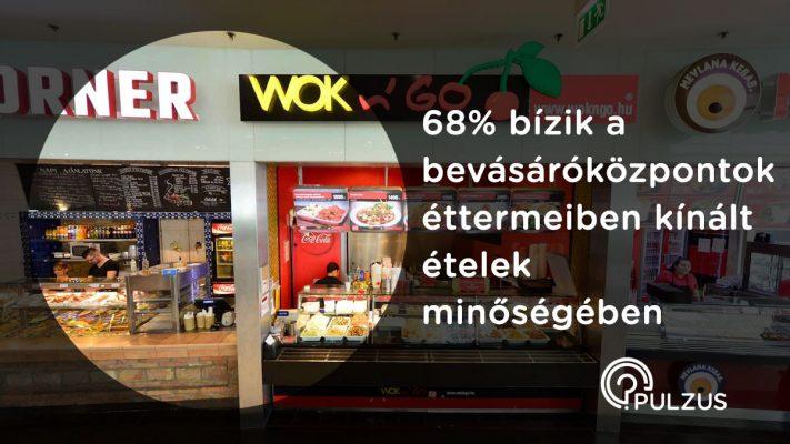Pulzus - A bevásárlóközpontok éttermeiben kínált ételek minősége