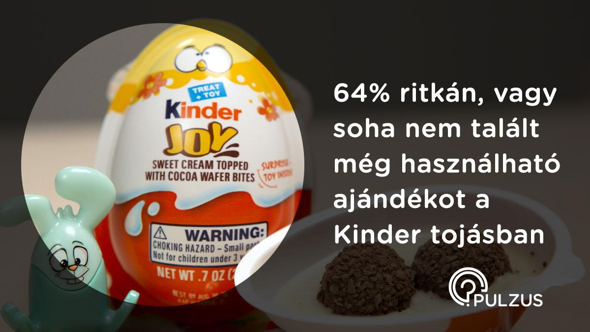 Használható ajándék a Kinder tojásban - Pulzus kutatás