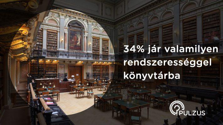 Könyvtárba járni rendszeresen - Pulzus kutatás