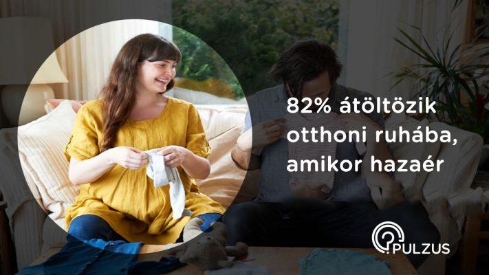 Átöltözni otthoni ruhába - Pulzus kutatás