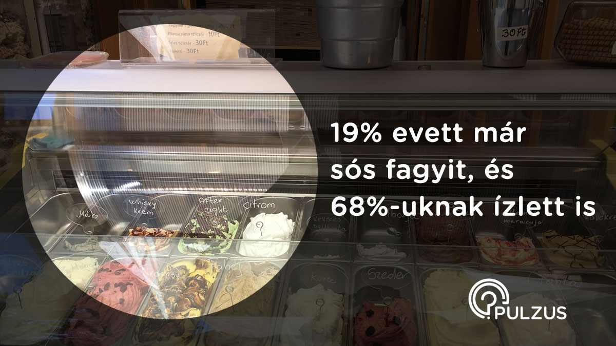 Sós fagylalt - Pulzus kutatás