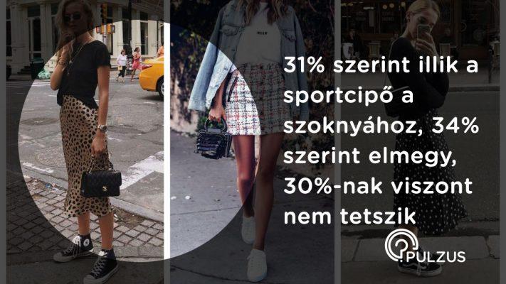 Sportcipő a szoknyához - Pulzus kutatás