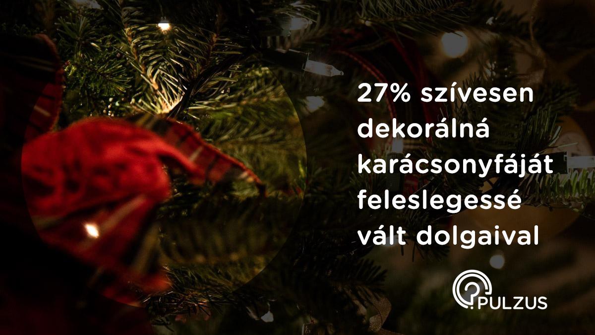 Karácsonyfa dekorálás feleslegessé vált dolgokkal - Pulzus kutatás