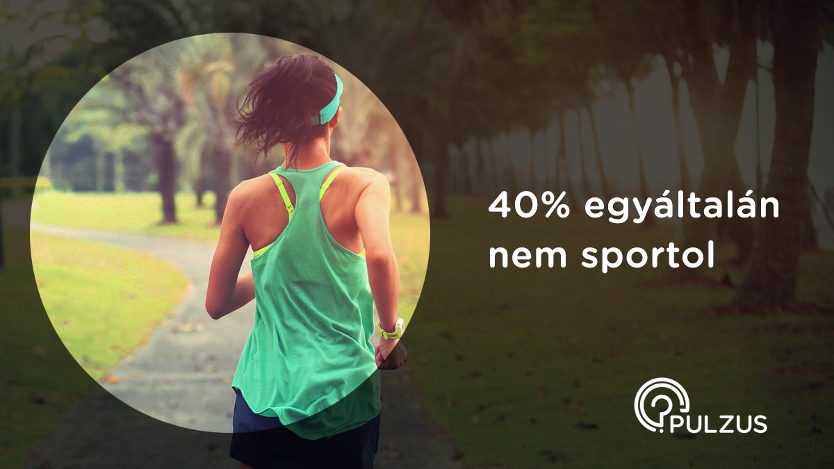 A sport élet, erő, egészség - Pulzus kutatás