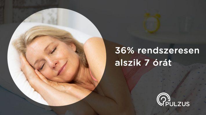 Rendszeresen 7 órát aludni - Pulzus kutatás