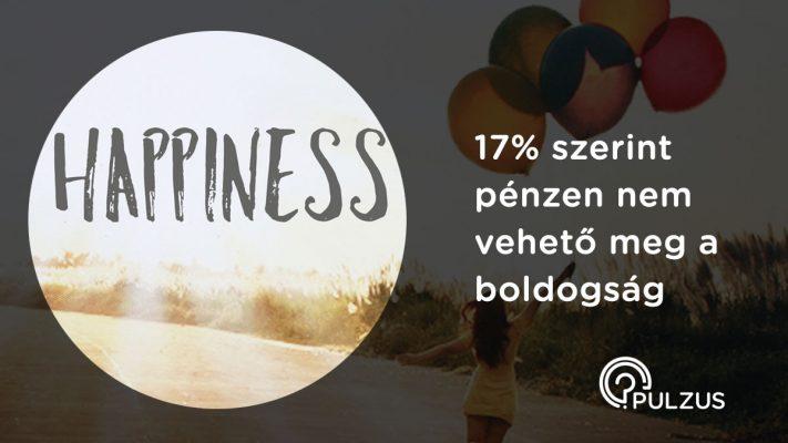 Pénzen vett boldogság - Pulzus kutatás