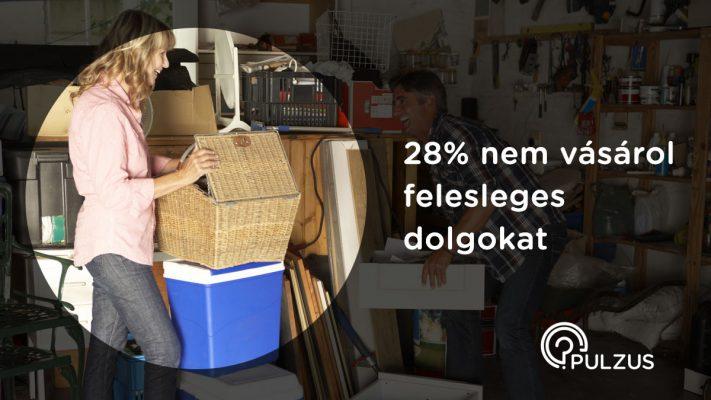 Felesleges dolgok vásárlása - Pulzus kutató