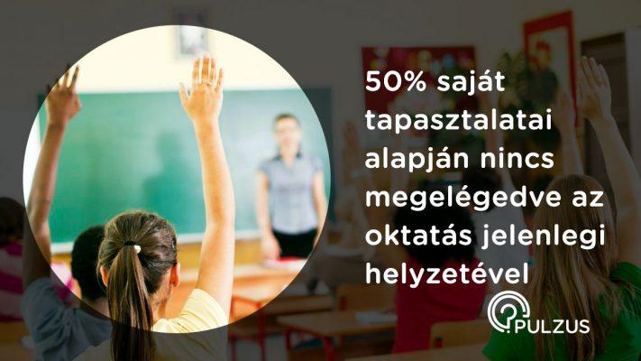 Az oktatás jelenlegi helyzete - Pulzus kutatás