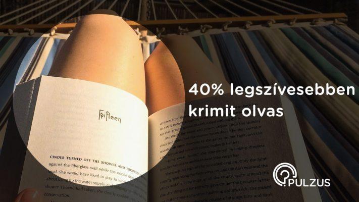 Krimi olvasás - Pulzus közvéleménykutatás