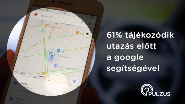 Google segítsége utazás előtt - Pulzus közvéleménykutatás