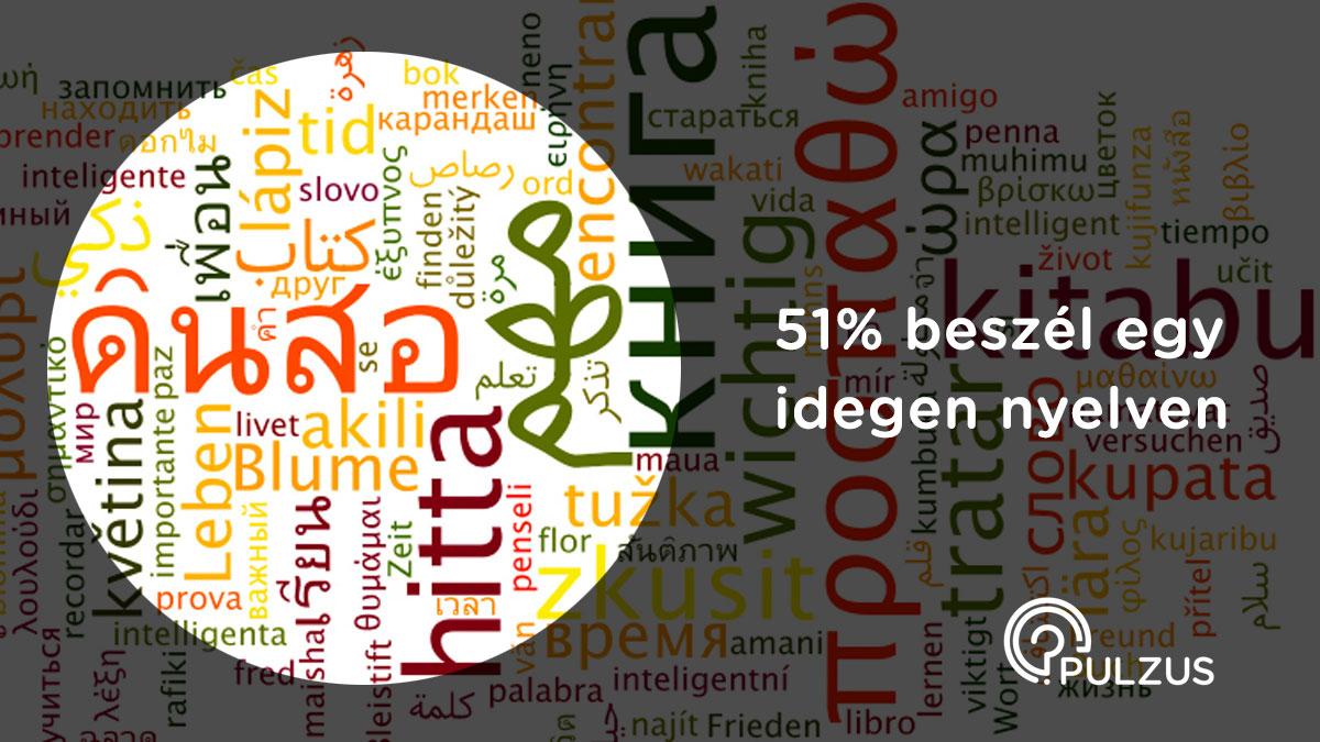 Idegen nyelven beszélni - Pulzus közvéleménykutatás