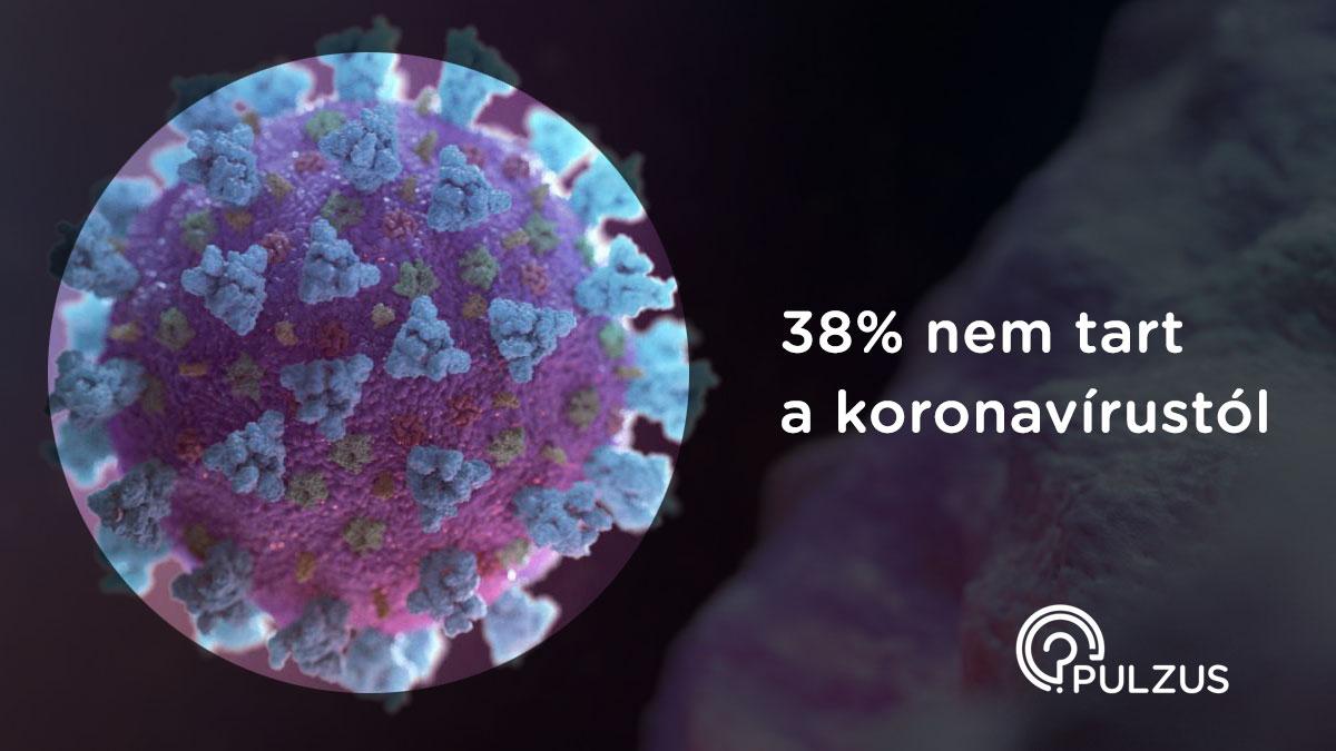 Félelem a koronavírustól - Pulzus közvéleménykutatás